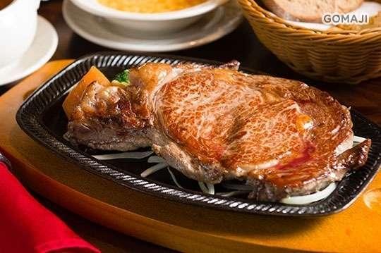 只要388元起,即可享有【鬥牛士(長安店)】A.單人精選組合餐 / B.頂級安格斯牛肉套餐