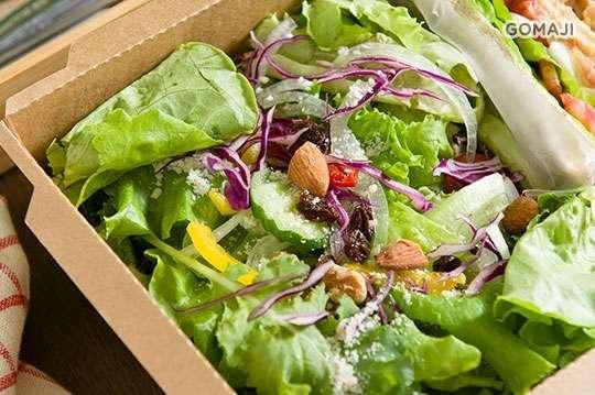 只要119元,即可享有【綠的空間】A.水耕活蔬菜沙拉一份 / B.水耕活蔬菜三明治沙拉一份
