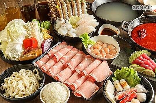只要268元起,即可享有【打狗霸TAKAO1972】A.個人鍋物10選1 / B.海陸焱雙人餐