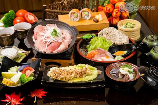 單人豪華日式組合料理