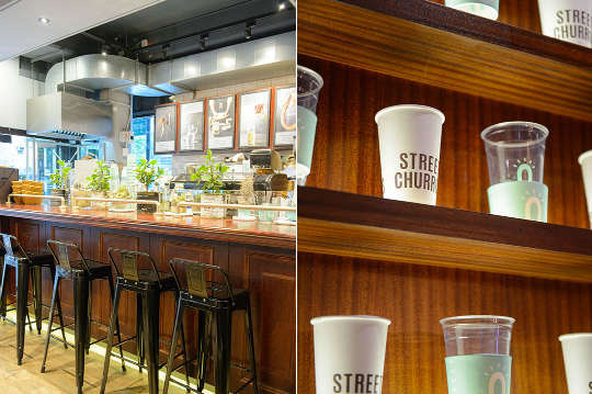 只要99元,即可享有【STREET CHURROS吉那圈咖啡】小吉那圈一個+季節限定霜淇淋一份