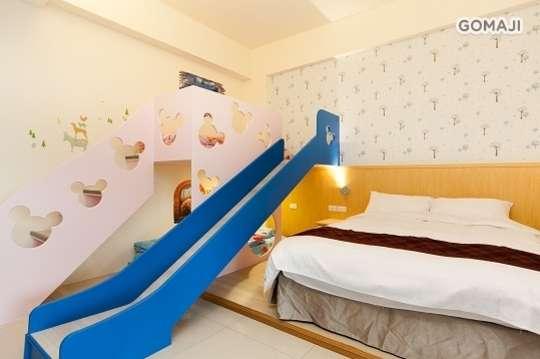 雙人/親子四人溜滑梯住宿專案