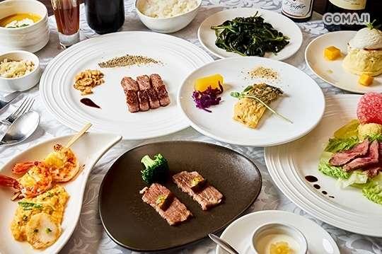 只要1780元起,即可享有【十和田鐵板燒】A.日式宮崎和牛饗宴12品 / B.極品活龍蝦雙人餐11品