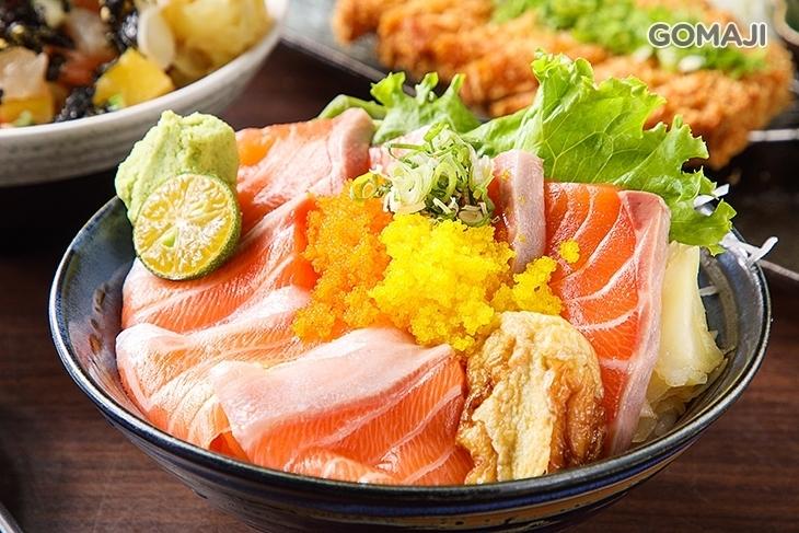 幸福食堂二代目-鮭魚滿滿