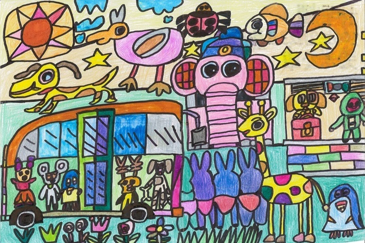 一起夢想-蝸牛寶的彩色夢