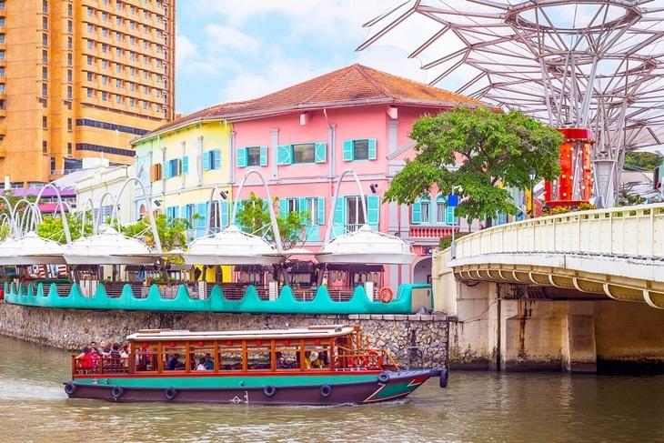 新加坡-克拉碼頭觀光遊河船票