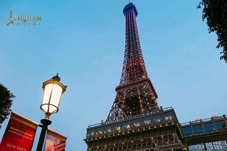 澳門巴黎人酒店艾菲爾鐵塔門票