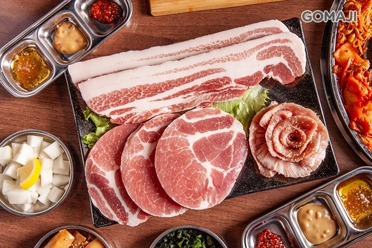 Woosan 韓式烤肉店