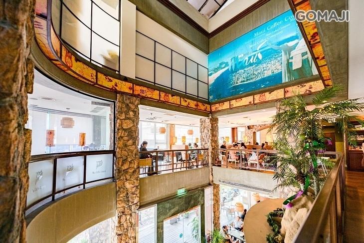 美國夏威夷毛伊咖啡館