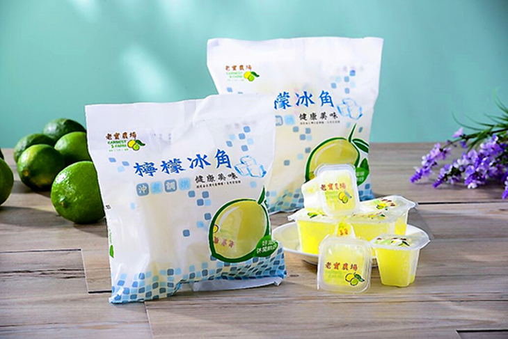 屏東【老實農場】100%檸檬原汁冰角 60顆起