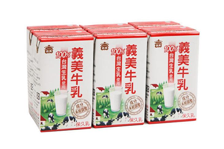 100%台灣生乳製【義美牛乳】 12瓶起