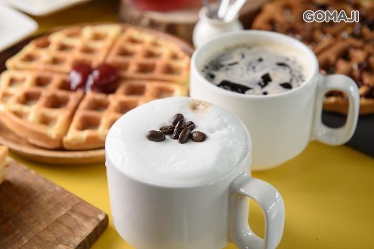 想喝咖啡.想吃雞排