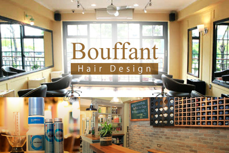 Bouffant hair Design