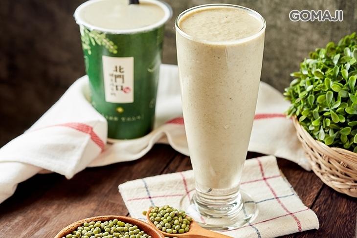 北門口-綠豆沙牛奶