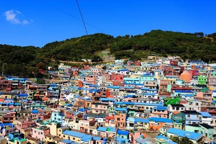 韓國-釜山半日遊(甘川洞文化村、松島天空步道、白險灘文化村)
