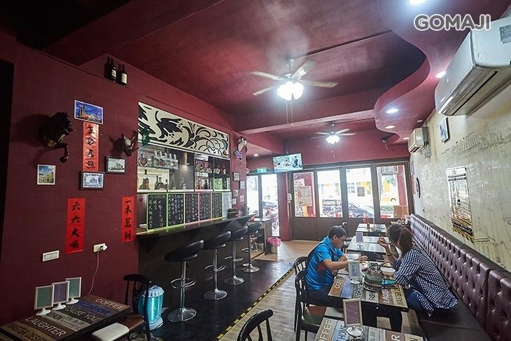 澳門馬交茶餐廳