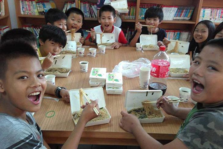 一起夢想-暖童助餐計畫