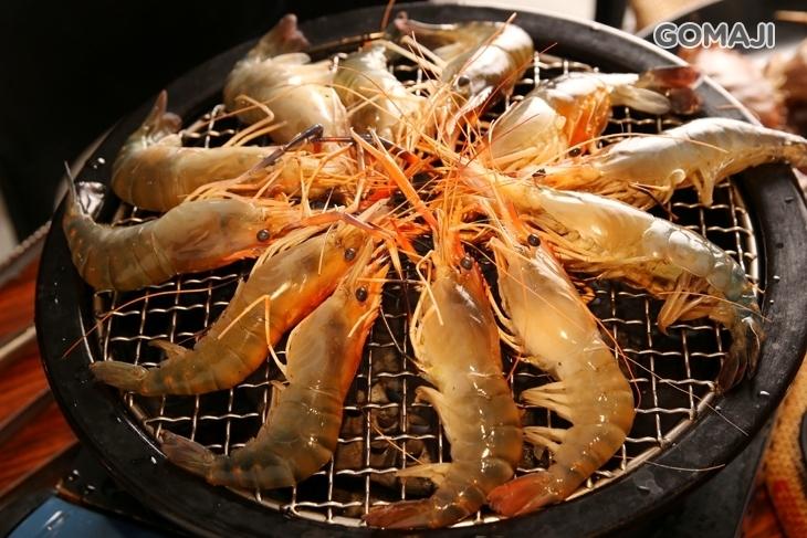 蝦爆了泰國流水蝦吃到飽