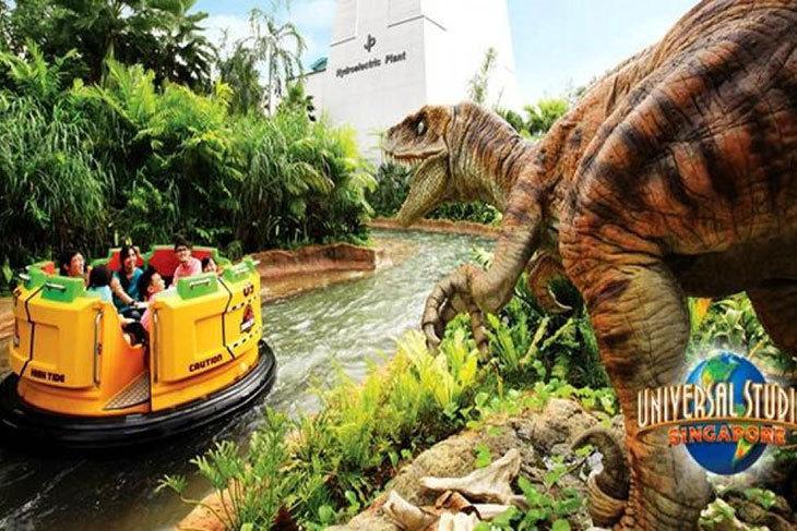【新加坡-聖淘沙名勝世界™】環球影城™ (電子票券印出紙本)