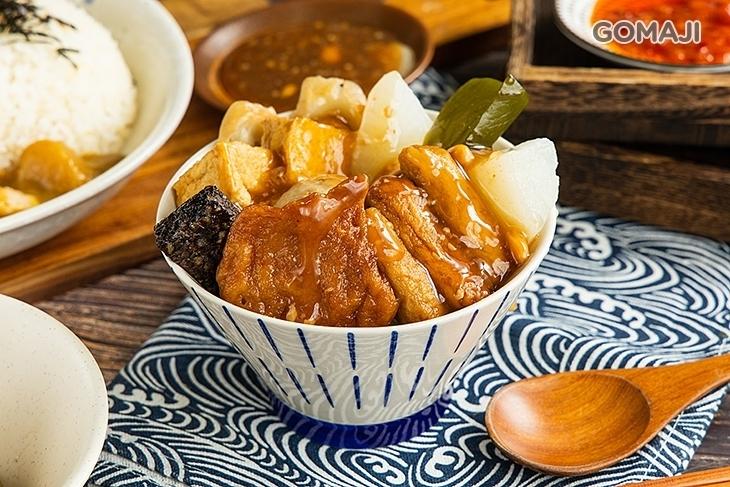 台北煮食甜不辣