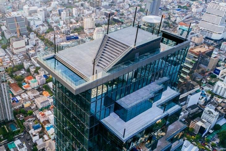 曼谷Mahanakhon SkyWalk 玻璃天空步道觀景台