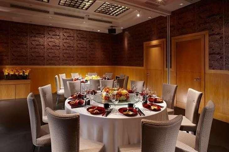 瓏山林台北中和飯店-紅餐廳