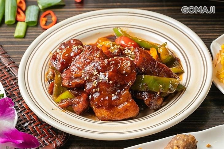 集鮮熱炒活蝦料理