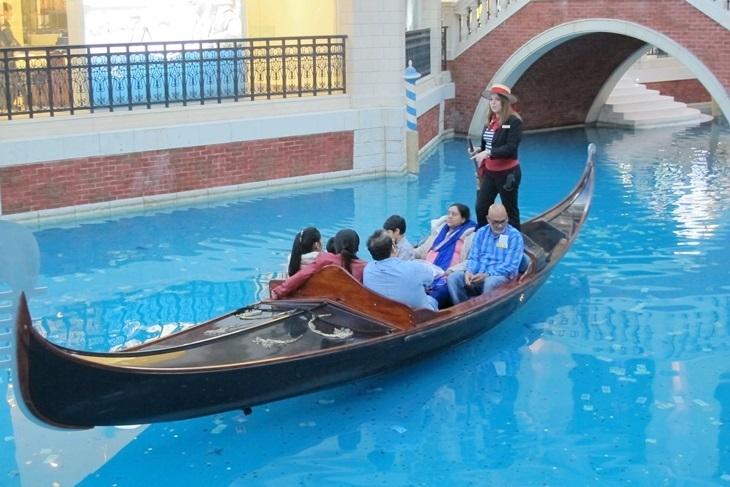 澳門威尼斯人貢多拉船票