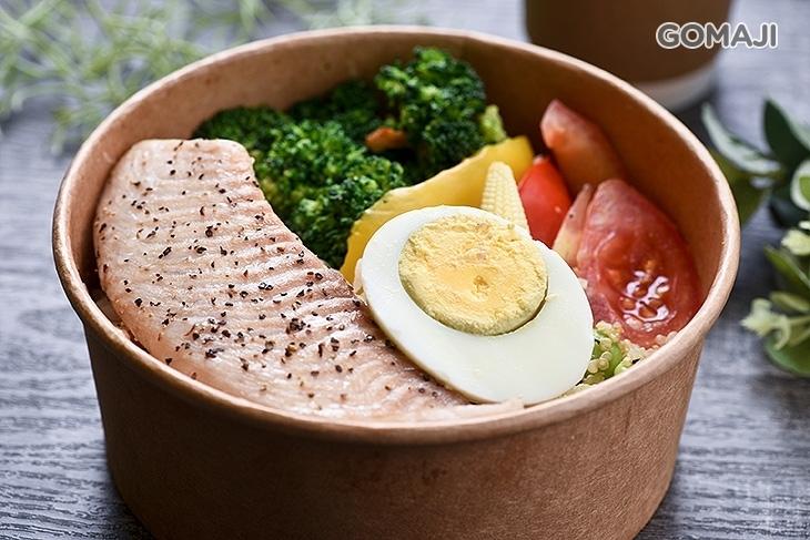 慢。蔬食健康餐盒