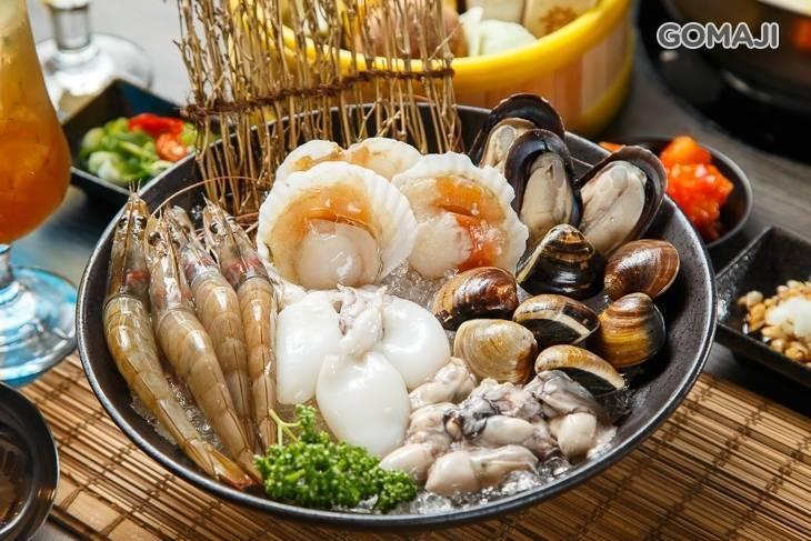 蝦拼鍋&韓國醬油螃蟹
