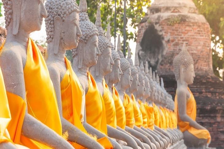 泰國-大城一日遊(瑪哈泰寺、拉查達火車夜市)