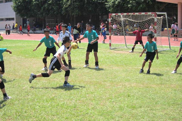 一起夢想-楓林國小手球隊夢想專案