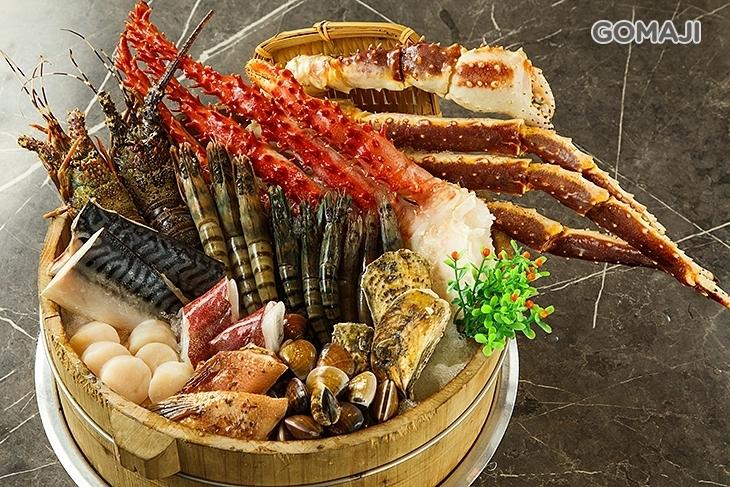 原月日式頂級帝王蟹燒烤&鍋物吃到飽