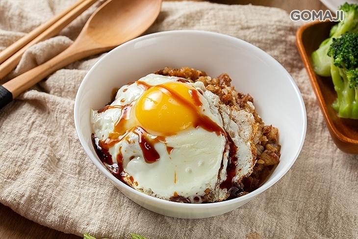 穀磨粒早午餐