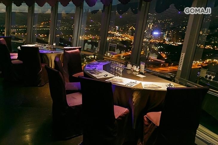 摘星樓 星月360度旋轉景觀餐廳