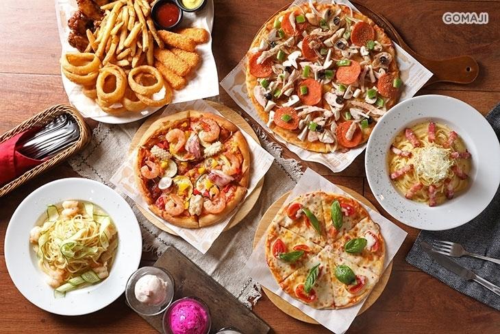 《扶風堂 民生廚房》披薩。義麵。吉拉朵