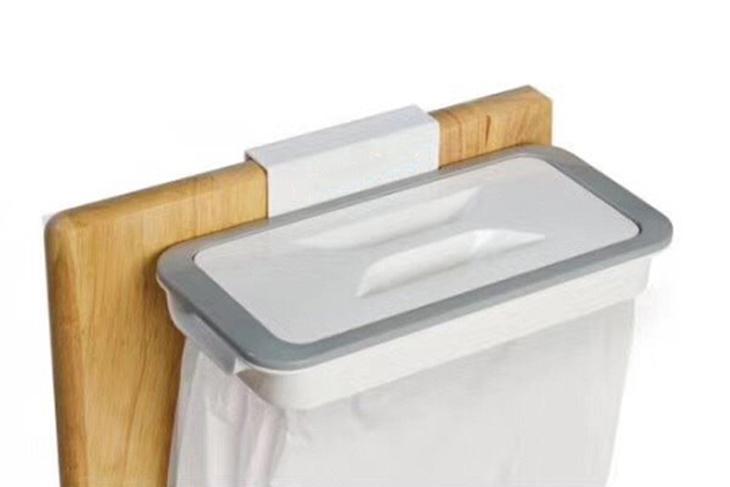 超實用桌邊收納掛式垃圾桶 1入起