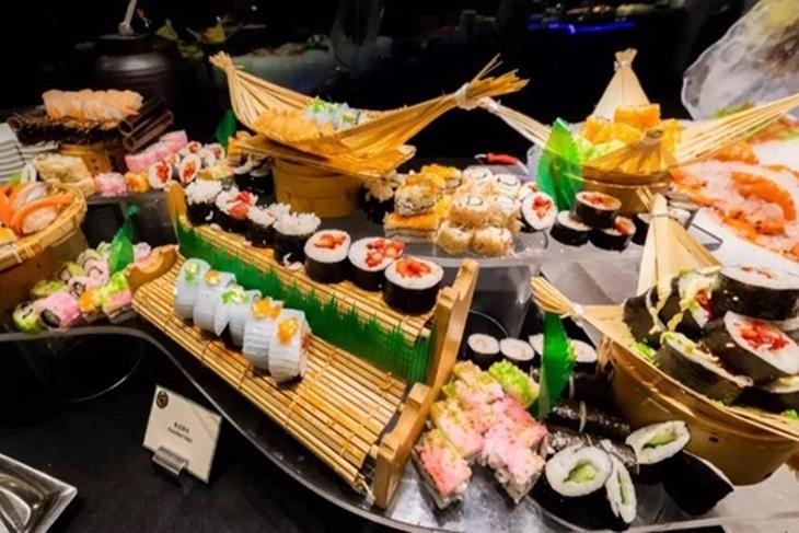 澳門威尼斯人酒店 渢竹Bambu自助晚餐