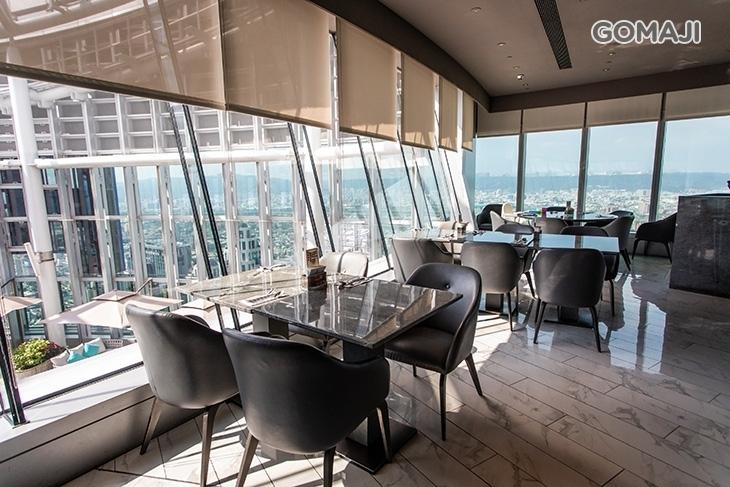 Mega 50餐飲及宴會-50F 全國最高自助餐廳 50樓Café