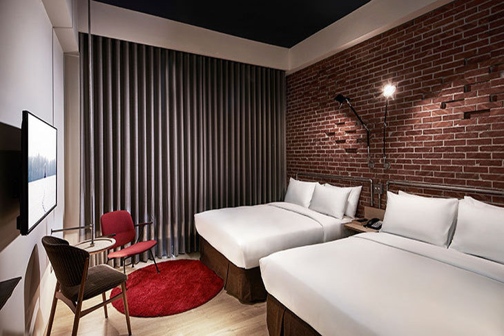 台南-U.I.J Hotel & Hostel 友愛街旅館