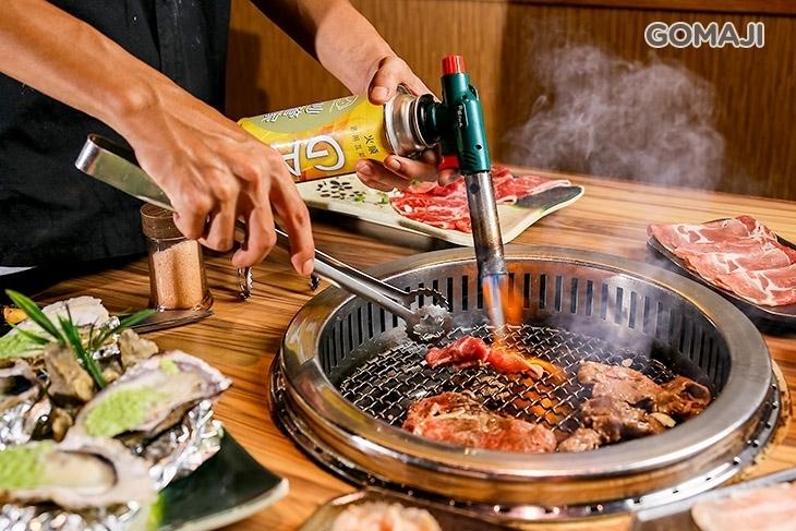 食在夯頂級帝王蟹燒烤&火鍋吃到飽