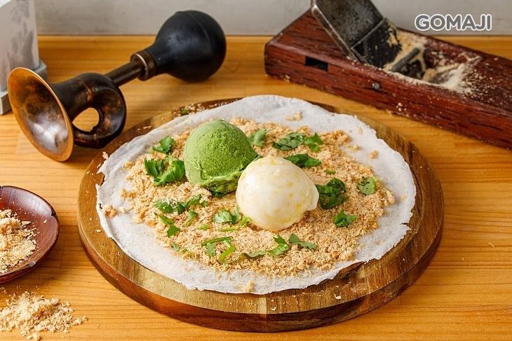 倆樂花生捲冰淇淋(淡水老街店)