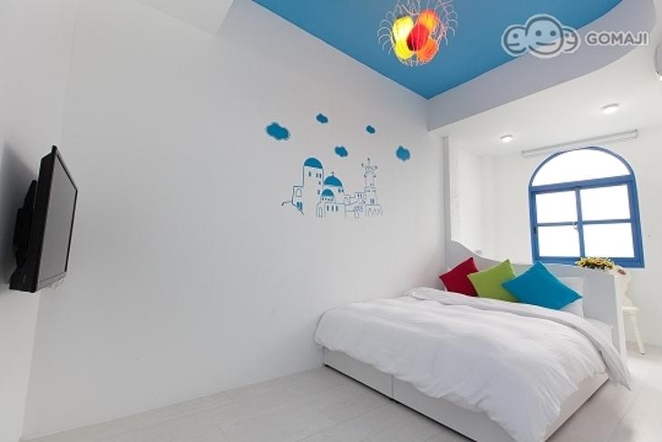 宜蘭礁溪-地中海溫泉民宿