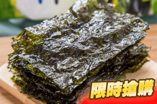 洪城郡岩烤酥脆海苔