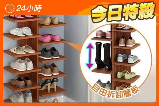 日式創新抽屜收納木鞋櫃