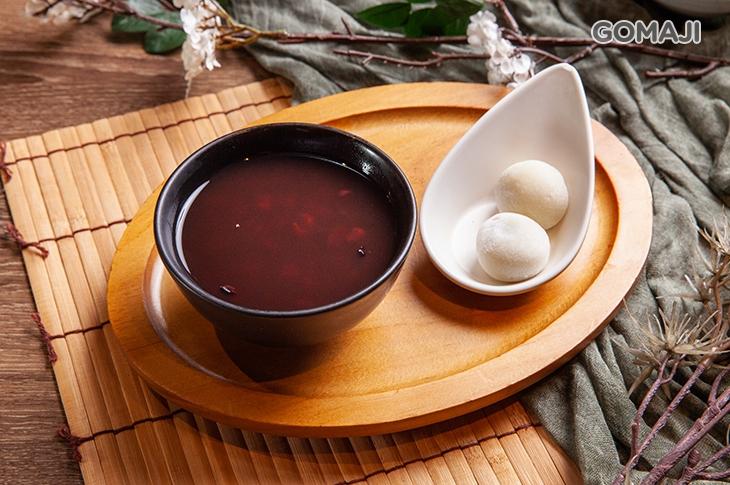 暖心白玉紅豆湯