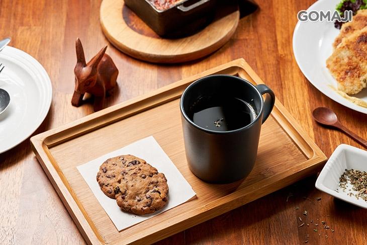 手工巧克力蔓越莓餅乾+德國有機花草茶