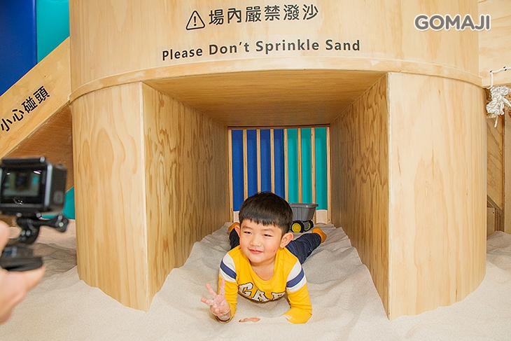 免費使用室內親子沙坑遊戲區(採預約制)