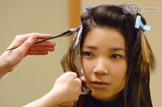 选用专业染膏帮你改变发色,摆脱白头发,布丁头,全染,挑染任你选,染图片