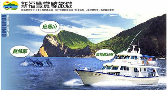 宜蘭新福豐36號賞鯨旅遊